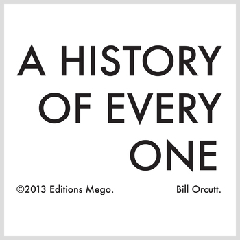 A History Of Every One cover art