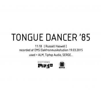 TONGUE DANCER '85 cover art